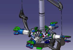 KEP-Metal-Solutions-Palonnier-retournement-rotor-hélicoptère
